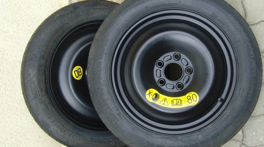Roti de rezerva inguste,subtiri,slim noi 5x108 R16 orig.Ford Focus 2,Focus 3,c-Max,Mondeo,etc,Volvo