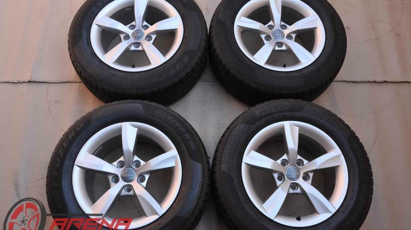 Roti Iarna 16 inch Originale Audi A6 4G C7 Pirelli 225/60 R16 98H