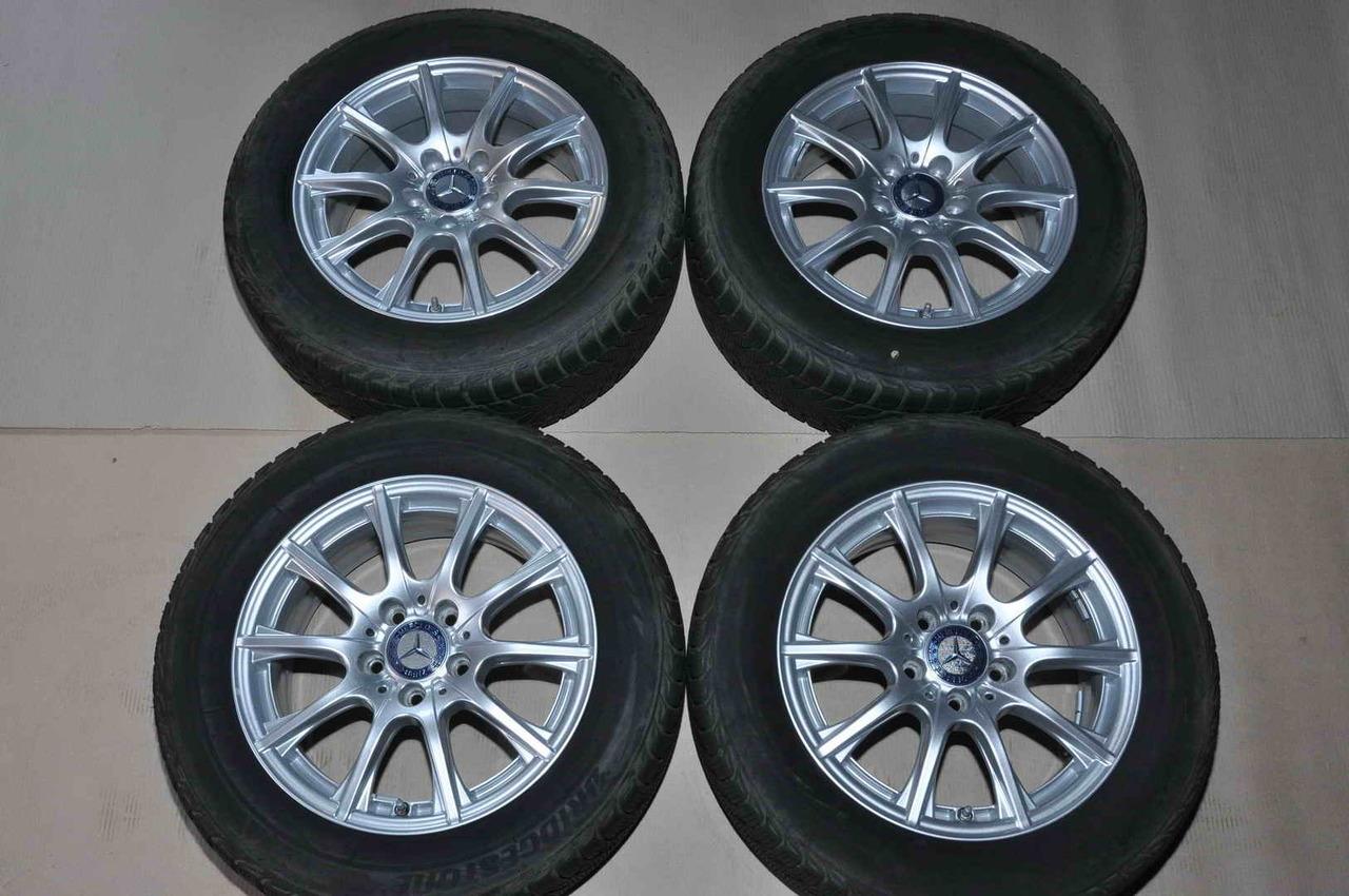 Roti Iarna 16 inch Originale Mercedes C-Class W205 Bridgestone 205/60 R16