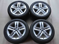 Roti Iarna 17 inch Originale Audi A4 8W B9 Dunlop 225/50 R17