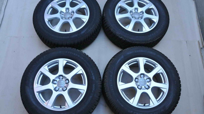 Roti Iarna 17 inch Originale Audi Q5 8R Dunlop 235/65 R17