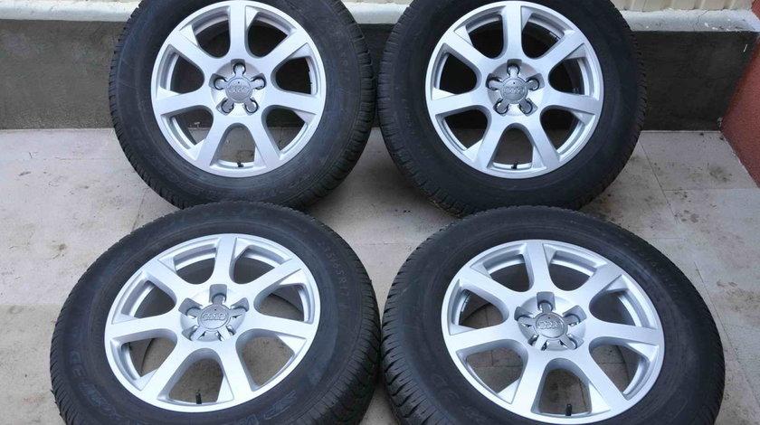Roti Iarna 17 inch Originale Audi Q5 Dunlop 235/65 R17