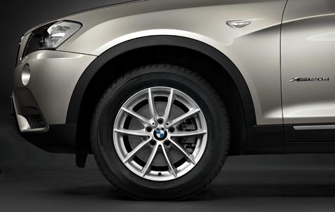 Roti Iarna 17 inch Originale BMW X3 F25 225/60/R17