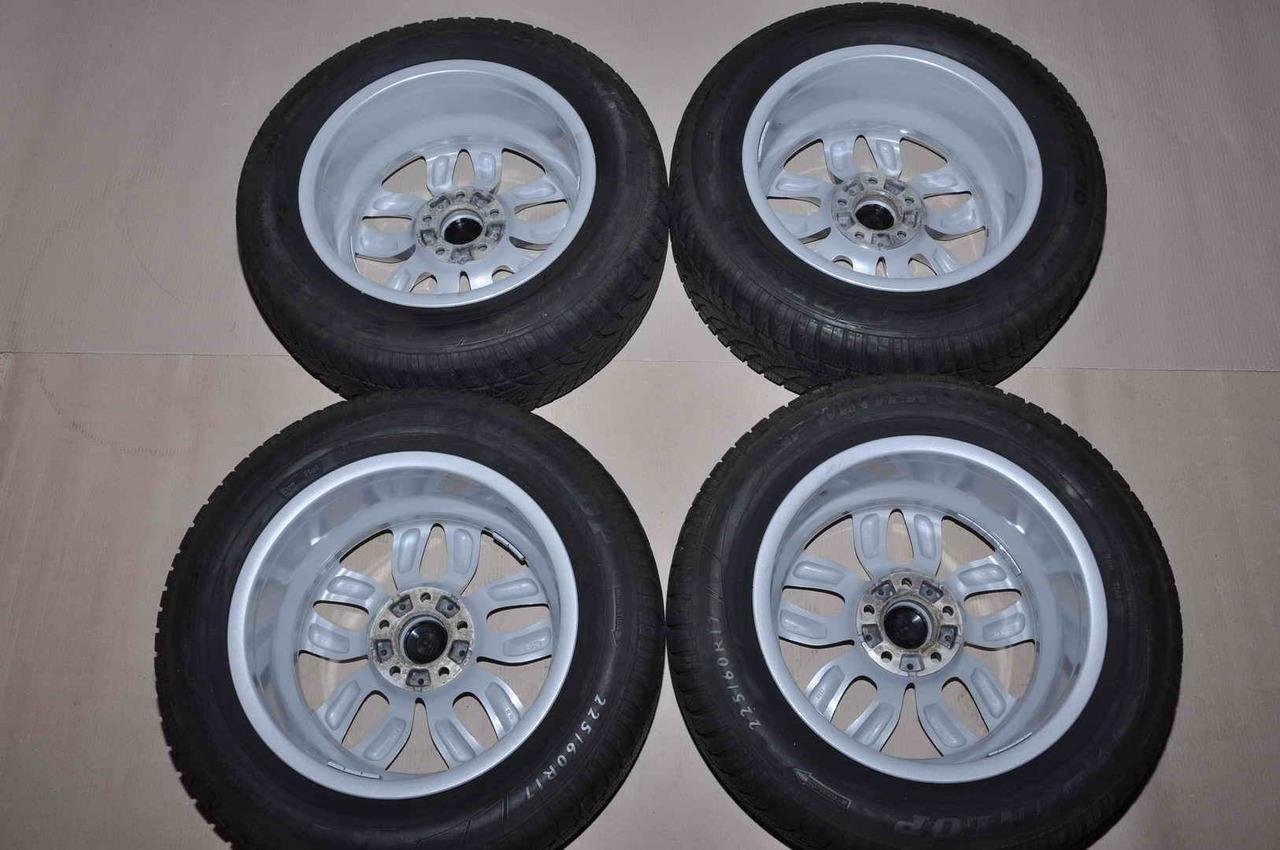 Roti Iarna 17 inch Originale BMW X3 F25 Style 305 Dunlop 225/60 R17 Run Flat