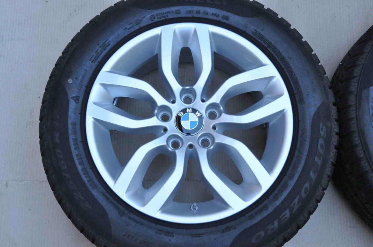Roti Iarna 17 inch Originale BMW X3 F25 X4 F26 Pirelli 225/60 R17