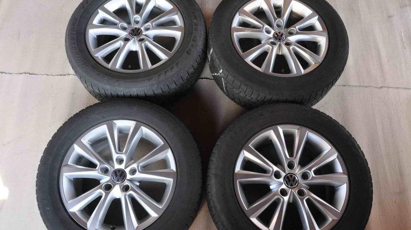 Roti Iarna 18 inch Originale VW Touareg 7P Bridgestone 255/55 R18