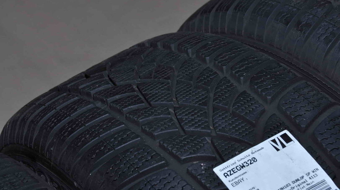 Roti Iarna 19 inch Originale Audi A8 4H Dunlop 235/50 R19