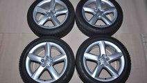 Roti Iarna 19 inch Originale Audi A8 4H Dunlop 235...