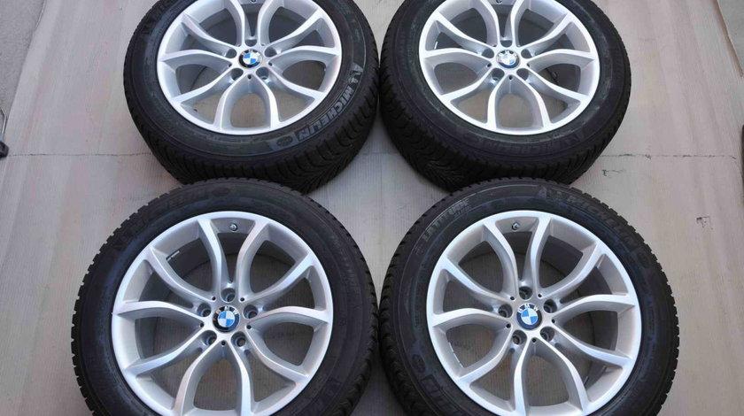 Roti Iarna 19 inch Originale BMW X6 F16 X5 F15 E70 Michelin 255/50 R19 RunFlat