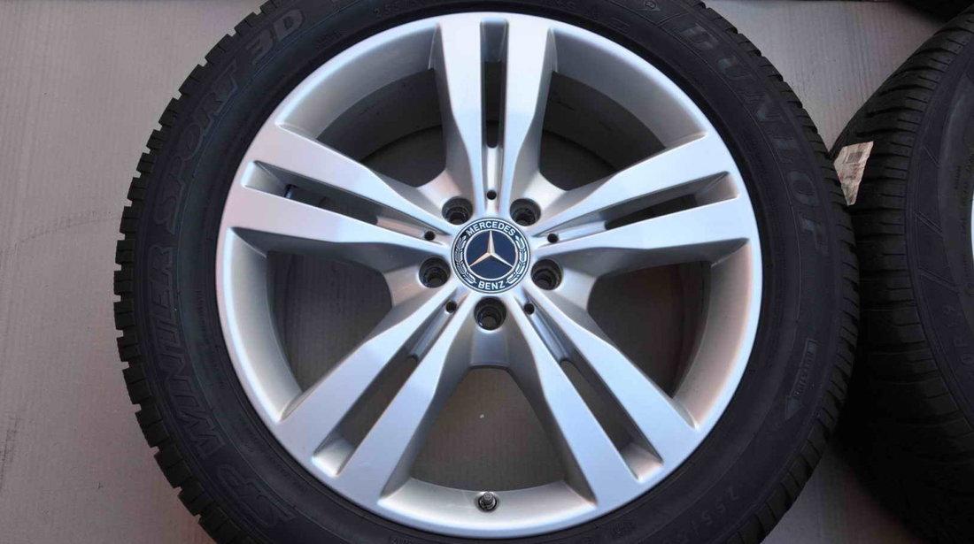 Roti Iarna 19 inch Originale Mercedes M W164 ML GLE W166 GL X164 X166 R-Class W251 Dunlop 255/50 R19