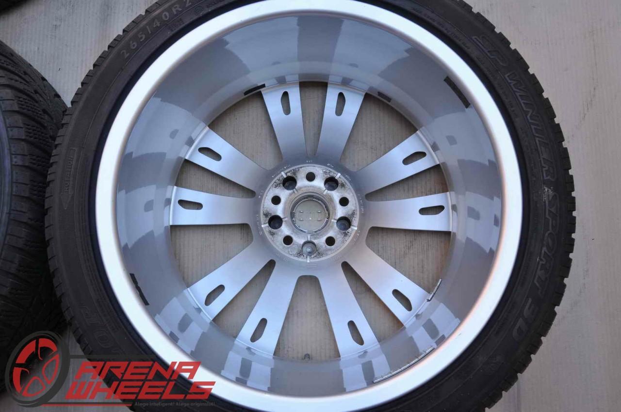 Roti Iarna 20 inch Originale Audi A8 4N Dunlop 265/40 R20