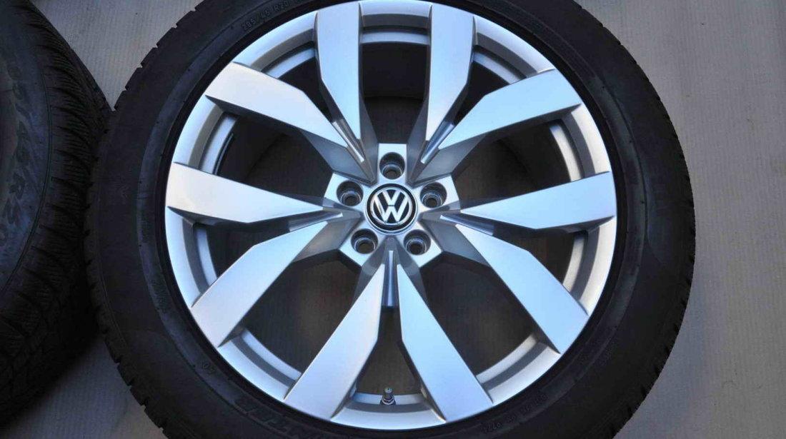 Roti Iarna 20 Inch Originale VW Touareg 3 CR Pirelli 285/45 R20