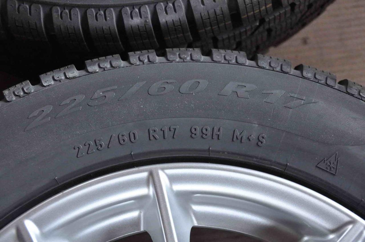 Roti Iarna Noi 17 inch BMW X3 F25 X4 F26 Pirelli 225/60 R17