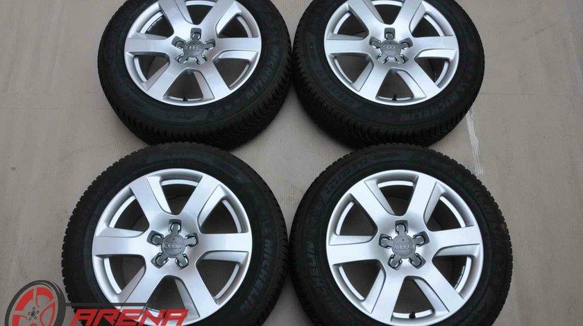 Roti Iarna Noi 17 inch Originale Audi A6 4G C7 Michelin 225/55 R17
