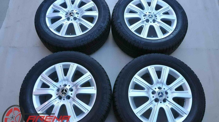 Roti Iarna Originale Mercedes GL W166 X166 ML GLE GLS Michelin 265/55 R19