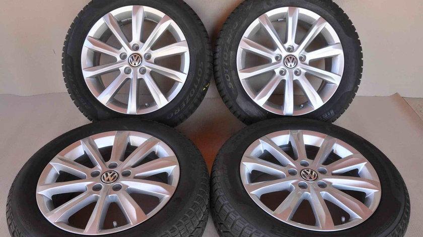 ROTI IARNA ORIGINALE VW Passat 3G B8 17 inch Pirelli Sottozero 3 215/55/R17