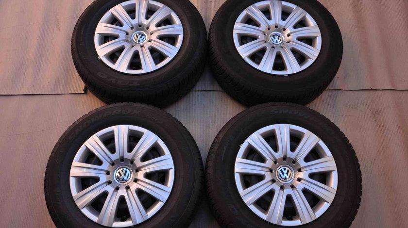 Roti Iarna Tabla 16 inch Originale VW Passat B8 Skoda Superb 3 Toyo 215/60 R16