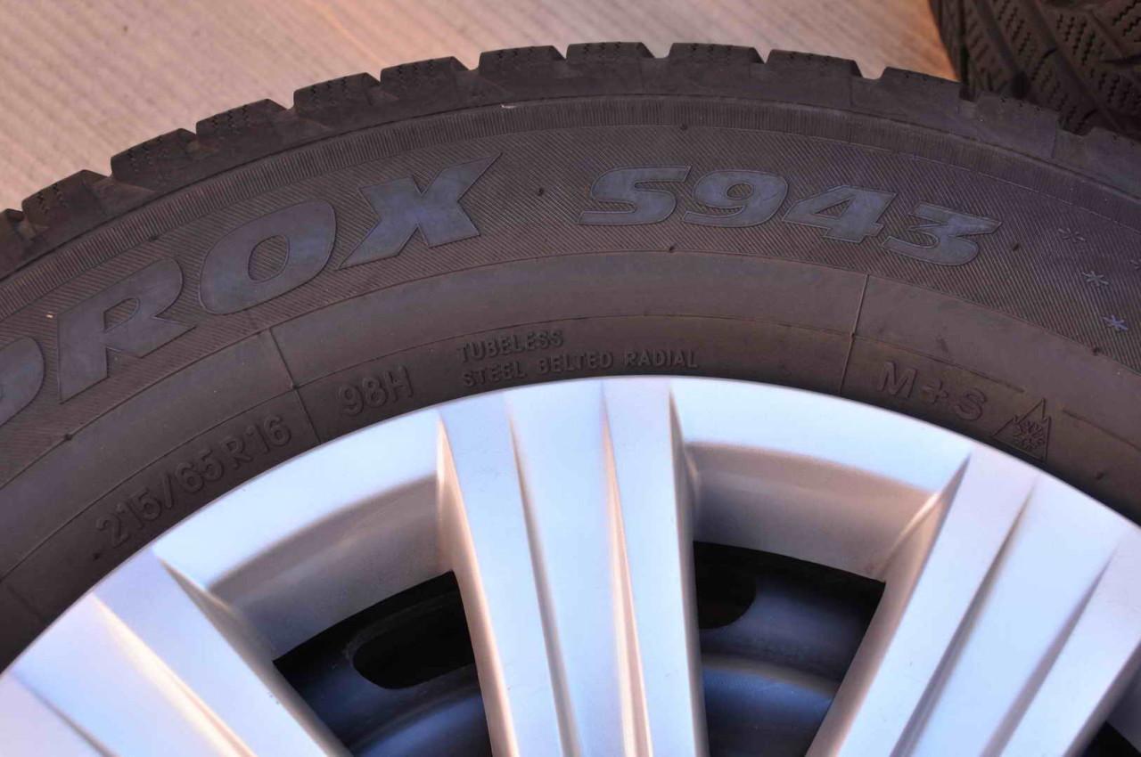 Roti Iarna Tabla 16 inch Originale VW Tiguan Audi Q3 Seat Ateca Skoda Karoq Toyo 215/65 R16