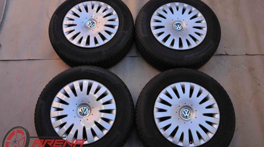 Roti Iarna Tabla 16 inch Originale VW Tiguan Audi Q3 Continental 215/65 R16