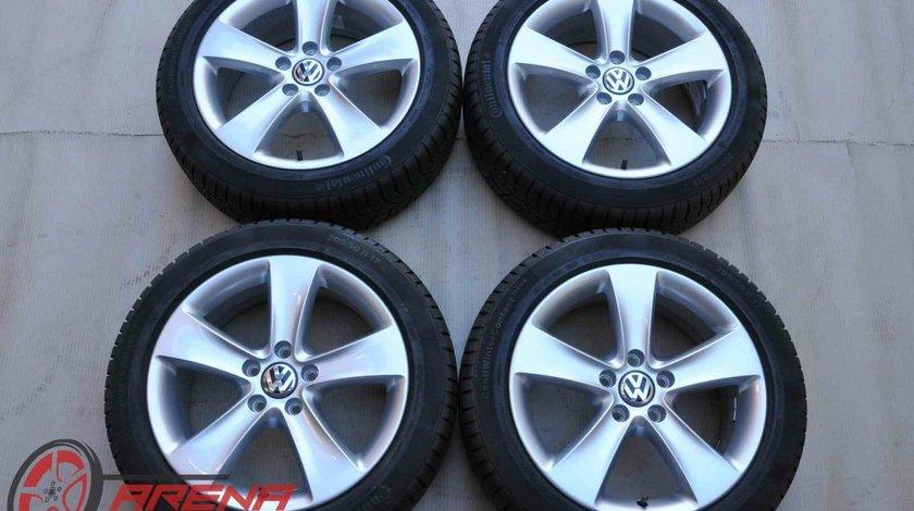 Roti Iarna VW Passat CC B6 B7 Scirocco EOS Golf Jetta Caddy Touran Continental 205/50 R17