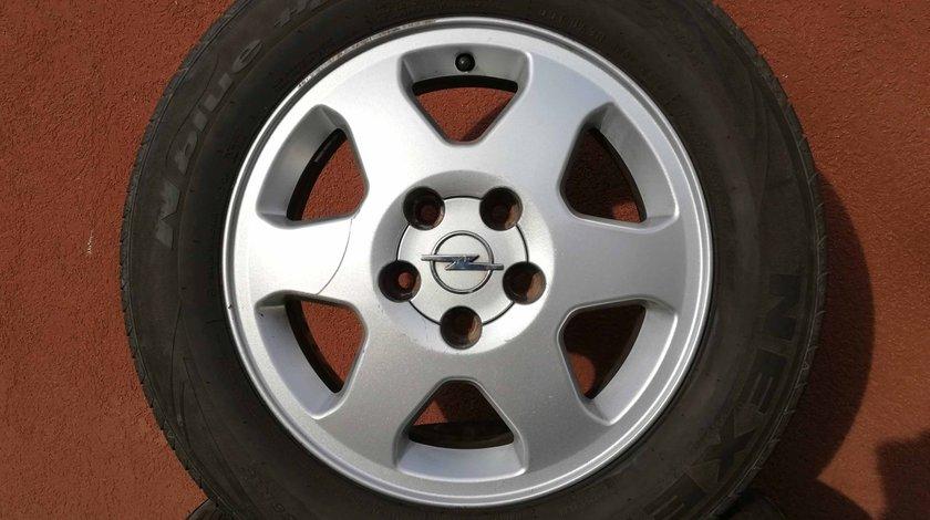 Roti Opel Zafira Vectra Astra - Jante aliaj + anvelope vara 195 65 15