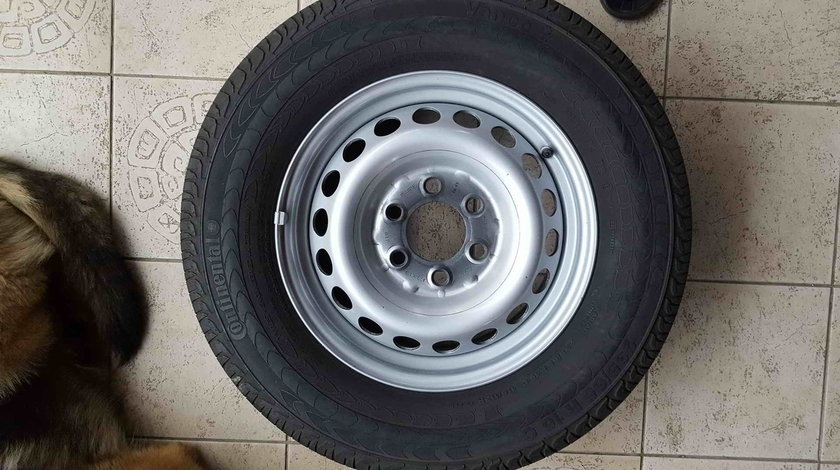 Roti Vara 16 inch Mercedes Sprinter Vw Crafter 235/65 R16C Continental