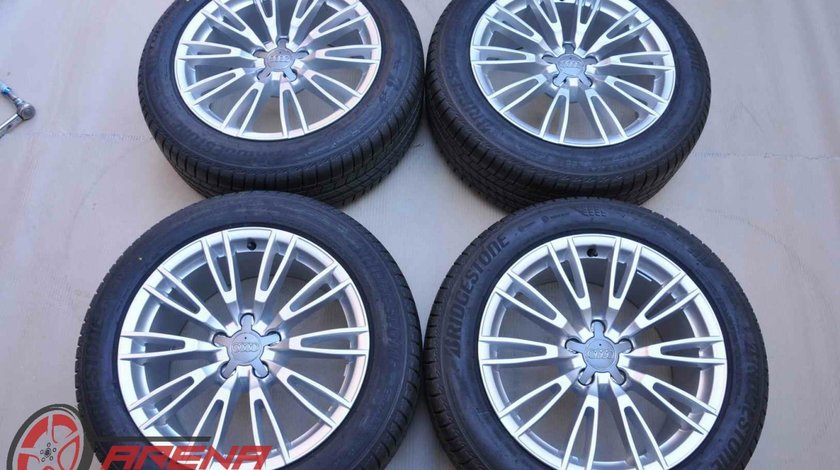 Roti Vara 18 inch Originale Audi A6 C8 A7 4K Bridgestone 225/55 R18