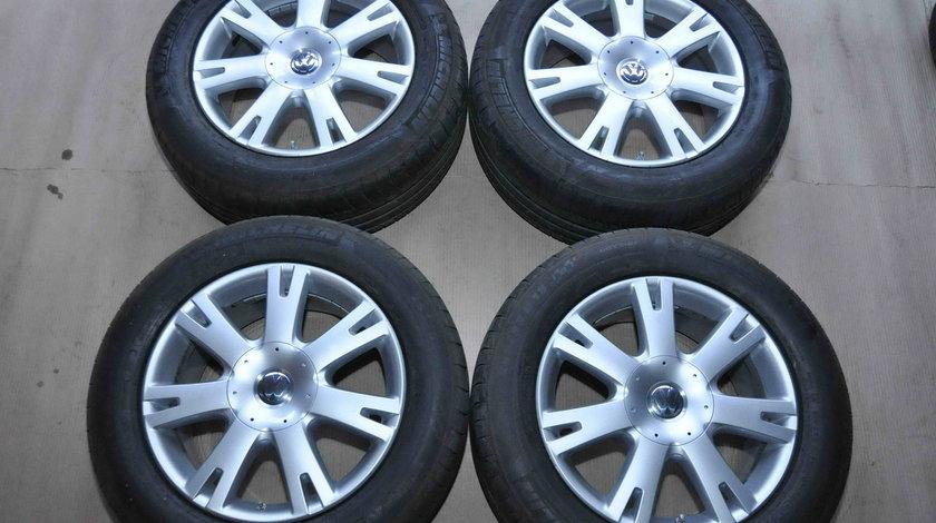 Roti Vara 18 inch originale VW Touareg 7L 5x120 Michelin 255/55 R18