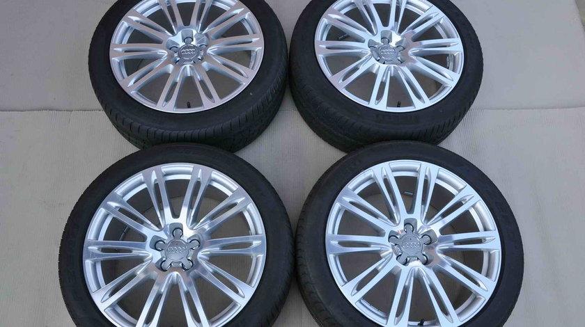 Roti Vara 20 inch Originale Audi A8 4H Pirelli 265/40 R20