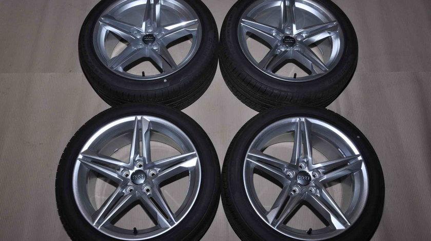 Roti Vara Noi 18 inch Originale Audi A5 8F 8W Pirelli 245/40 R18 8W0601025DE