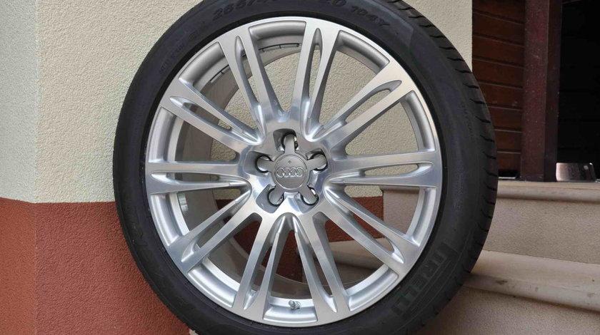 Roti Vara Noi 20 inch Originale Audi A8 4H 4N Pirelli 265/40 R20