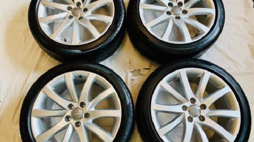 Roti Vara Noi cu Jante Originale Audi A4 B8 ET47 Barum 245/40 R18 inch