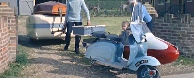 Rulota pliabila trasa de scuter, chintesenta mobilitatii in 1959