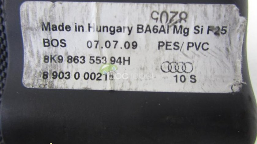 Rulou portbagaj original Audi A4 8K Avant