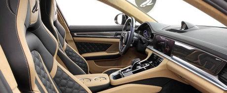 Rusii au terminat de tunat noul Porsche Panamera. Modelul german nu mai arata deloc asa cum il stiai