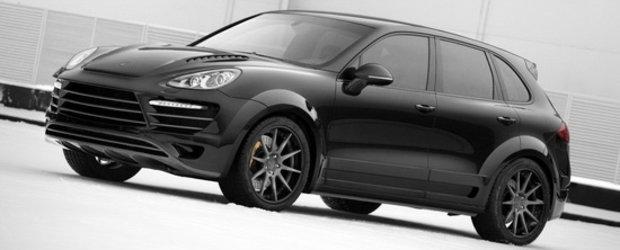Rusii de la TopCar au facut o obsesie pentru ultimul Porsche Cayenne!
