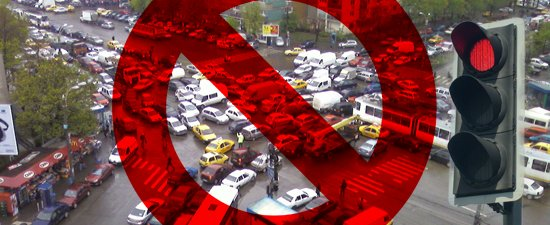 Rusine pentru Comisia de Circulatie Bucuresti - cea mai proasta sincronizare a semafoarelor din Europa!