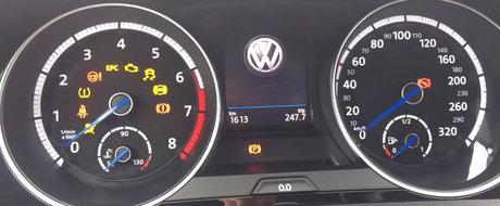 S-a cam zis cu fiabilitatea germana. Un Volkswagen Golf 7 R are probleme grave dupa doar 1.600 de km parcursi