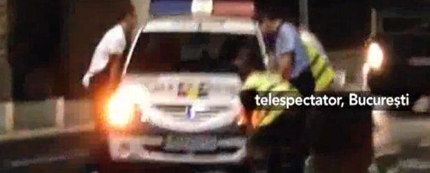 S-a facut dreptate pentru biciclisti: politisti ramasi blocati pe Victoriei
