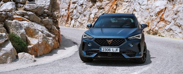 S-a ieftinit cu aproape 20.000 de euro. Cat costa acum in Romania noul Cupra Formentor, crossover-ul cu forme de coupe