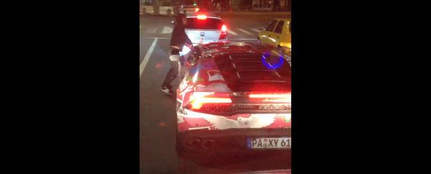 S-a intamplat vineri seara, in Bucuresti. Cel mai tare moment de la Gumball 3000