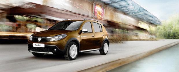 S-a lansat Dacia Sandero Stepway, in varianta eco
