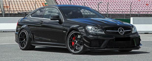 S-a saturat sa astepte dupa Mercedes. Inden Design a demontat un C63 AMG si si-a creat propriul Black Series