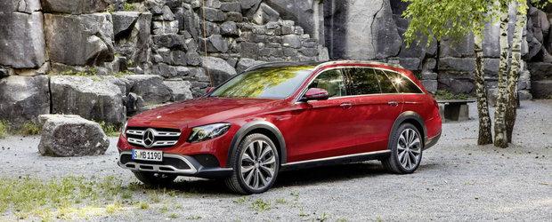 S-a uitat in gama Audi si a vazut ca nu are un rival pentru A6 Allroad. Astazi, Mercedes lanseaza E-Class All Terrain