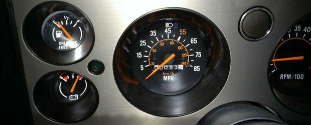 S-a vandut de doua ori in 38 de ani, insa are doar 85 de kilometri. Muscle car-ul cu motor V8 e din nou DE VANZARE!