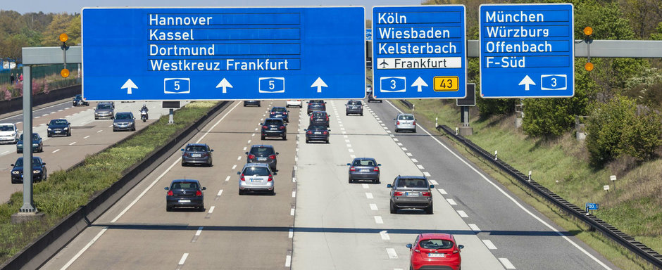 """S-a zis cu """"raiul vitezomanilor"""". GERMANIA pregateste limita de viteza pe toate autostrazile"""