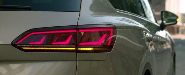 S-au inspirat de la Audi. Noul Volkswagen Touareg va avea stopuri cu semnalizare secventiala