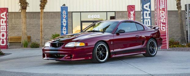 S-au intors in timp ca sa modifice acest Mustang. Cum arata acum muscle car-ul american