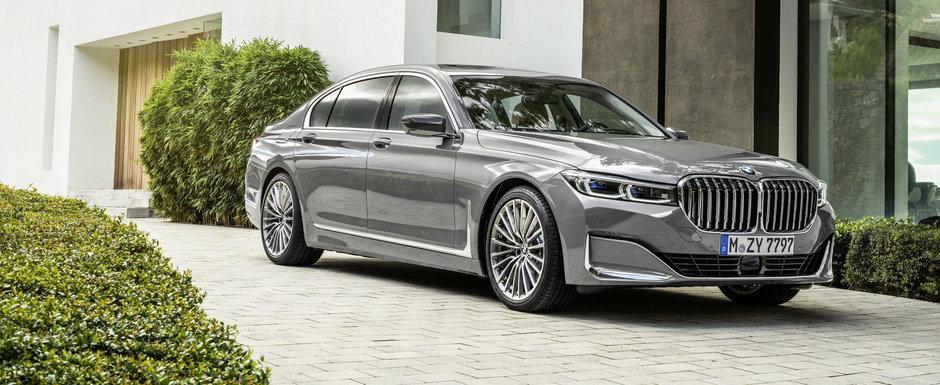 S-Class are de azi competitie serioasa. BMW Seria 7 a primit un FACELIFT iar primele imagini oficiale sunt aici