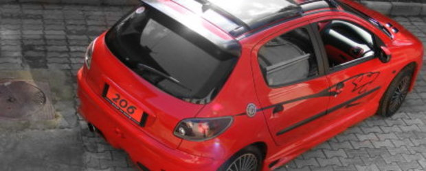 S is for Stendhal: Peugeot 206 by Cosmin
